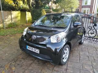 2009 Toyota iQ 1.0 VVT i 3dr Black Manual Done 56K