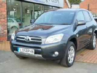 2009 TOYOTA RAV4 XTR 2.2 D 4D 4WD LOW MILES SUNROOF EXCELLENT HISTORY