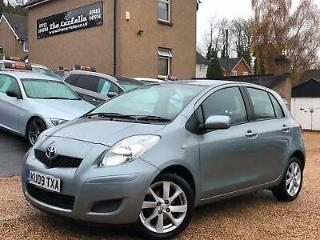 2009 Toyota Yaris 1.33 VVT i TR 5dr [6] HATCHBACK Petrol Manual