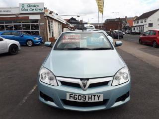 Vauxhall Tigra 1.4 16v Air Convertible From £2,995 + Retail Package Other 2009, 34000 miles, £2995