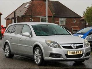 2009 Vauxhall Vectra 1.8i VVT SRi 5dr ESTATE Petrol Manual