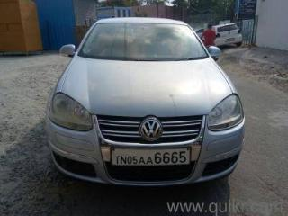 Beige 2009 Volkswagen Jetta Highline TDI AT 83690 kms driven in G K M Colony