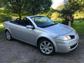 2009MY 58 RANAULT MEGANE DYNAMIQUE 2.0 DCi CC CONVERTIBLE LOW MILES ONLY 53K