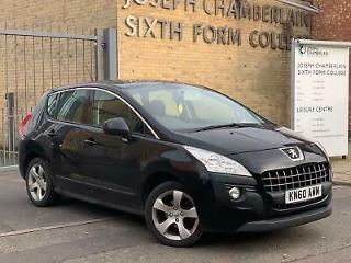2010/60 Peugeot 3008 Crossover 1.6HDi 110bhp FAP 6sp Sport HPI CLEAR DELIVER