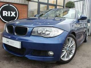 2010 10 BMW 1 SERIES 2.0 118I M SPORT 2D HALF LEATHER UPHOLSTERY CRUISE CONTROL