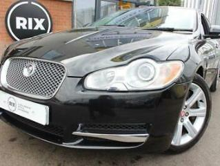 2010 10 JAGUAR XF 3.0 V6 LUXURY 4D BLACK LEATHER CRUISE CONTROL SATNAV PARKING S