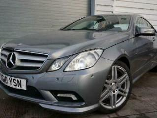 2010 10 MERCEDES BENZ E CLASS 3.0 E350 CDI BLUEEFFICIENCY SPORT 2D 2 OWNERS HEAT