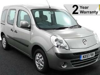 2010 10 RENAULT KANGOO 1.5 DCi I MUSIC SPECIAL EDITION WHEELCHAIR ACCESSIBLE