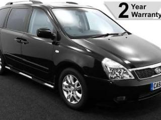 2010 59 KIA SEDONA 2.2 CRDi 3 AUTO LOW FLOOR WHEELCHAIR ACCESS ~ LEATHER