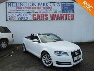 2010 60 Audi A3 Cabriolet 1.2 104bhp GREAT SERVICE HISTORY