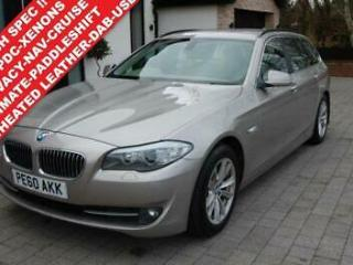 2010 60 BMW 5 SERIES 2.0 520D 184 BHP SE TOURING 5DR AUTO. £7,500 EXTRAS !