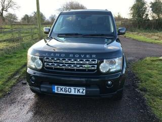 2010 60 DISCOVERY 4 3.0 TDV6 HSE AUTO BLACK BLACK LEATHER FULL L.R. HISTORY