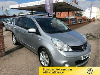 2010 60 Nissan Note 1.6 16v Automatic Tekna.Silver,5000rm,Sat Nav,1/2 leather