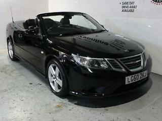 2010 60 Plate Saab 9 3 1.8t Linear SE SH Alloys Electric Folding Roof