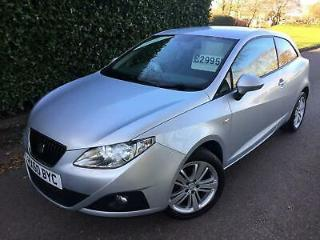 2010 60 SEAT IBIZA 1.4 16V SPORTCOUPE GOOD STUFF AVG MPG 47.9 !
