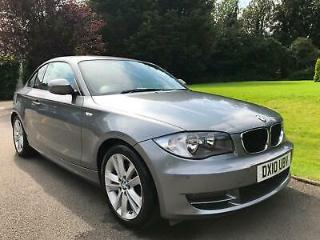 2010 BMW 118D COUPE SPORT FULL SERV HISTORY MOT JULY 2020 LOW TAX £30 A YEAR