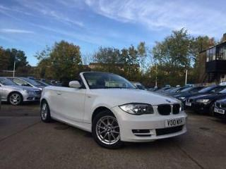2010 BMW 1 Series 2.0 118i SE Convertible 2dr Petrol Manual 149 g/km, 143 bhp