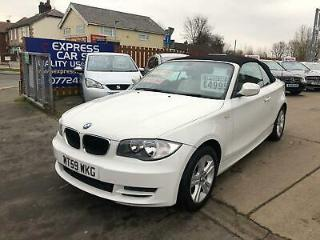 2010 BMW 1 Series 2.0 120i SE 2dr Convertible Petrol Manual