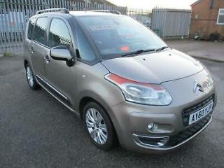 2010 Citroen C3 Picasso 1.6 HDi 16V Exclusive 5dr MPV Diesel Manual
