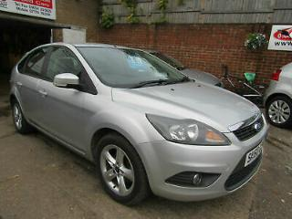 2010 Ford Focus 1.6 Zetec,Silver,5dr,Only 62,000miles,Full S/History 8 stamps