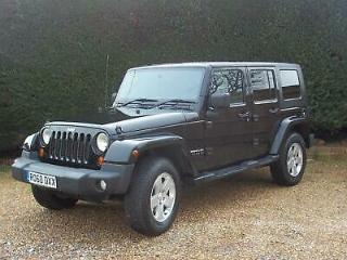 2010 Jeep Wrangler 2.8 CRD Sport Unlimited Auto 4WD 4dr