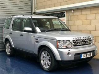 2010 Land Rover Discovery 4 3.0 TD V6 XS SUV 5dr Diesel Automatic 4X4