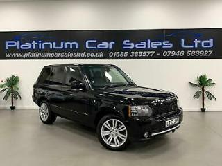 2010 LAND ROVER RANGE ROVER TDV8 VOGUE ESTATE DIESEL