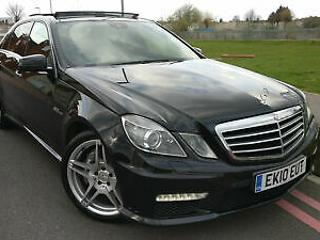 2010 Mercedes Benz E63 AMG 6.2 7G Tronic AMG +HUGE SPEC