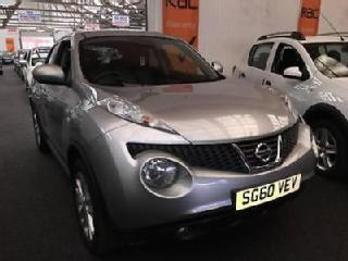2010 NISSAN JUKE 1.6 DiG T Tekna 5dr 4WD CVT From £7950+Retail package