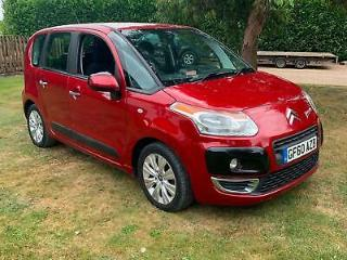 2010 Red Manual Citroen C3 Picasso 1.6HDi 8v FREE 3 MONTH WARRANTY