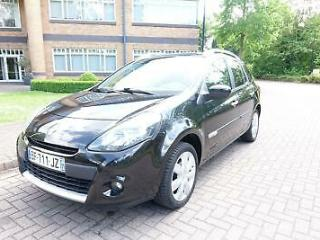 2010 Renault Clio 1.5dCi 90Bhp TomTom Left hand drive lhd French registered
