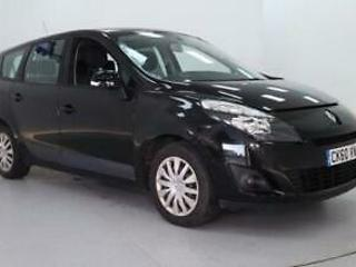 2010 Renault Grand Scenic 1.6 petrol 110bhp Expression metalic black 7 SEATER