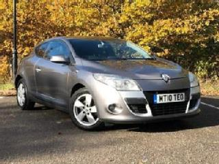 2010 Renault Megane 1.5 dCi Dynamique Tom Tom 2dr Tom Tom Diesel grey Manual