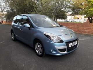 CAR IS NOW SOLD 2010 RENAULT SCENIC DYNAMIQUE TTOM DCI WITH GOOD SERVICE HISTORY