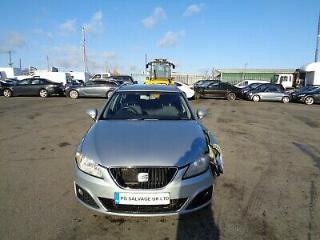 2010 SEAT EXEO SE CR TDI 2.0 DIESEL 6 SPEED MANUAL DAMAGED REPAIRABLE SALVAGE