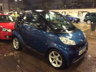 2010 Smart ForTwo 800cc CDi Softouch Auto