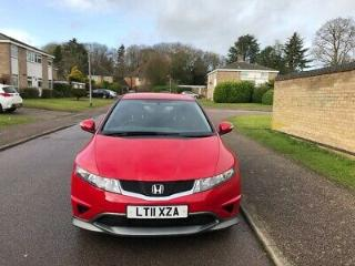 2011/11 Honda Civic 1.4 type s 3dr red ac alloys fhsh