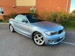 20111 BMW 118 2.0 Diesel D Sport Soft Top Convertible
