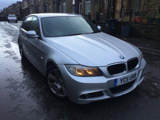 2011 11 BMW 3 SERIES 320D M SPORT AUTO NOT DAMAGED REPAIRABLE SALVAGE CAT N