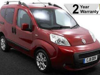 2011 11 FIAT QUBO 1.3 D SWITCH DRIVE FROM OR UP FRONT AUTO WHEELCHAIR ACCESS