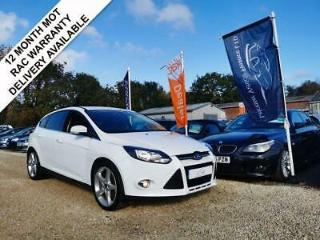 2011 11 FORD FOCUS 1.6 ECO BOOST TITANIUM 5DR 148 BHP