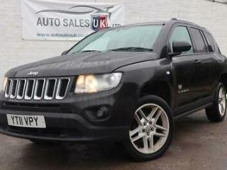 2011 11 JEEP COMPASS 2.1 CRD 70TH ANNIVERSARY 5D 161 BHP DIESEL