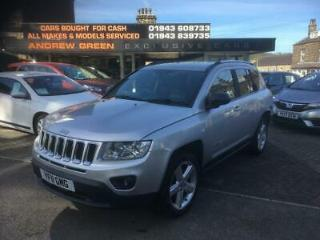2011 11 JEEP COMPASS 2.4 LIMITED 5DR CVT
