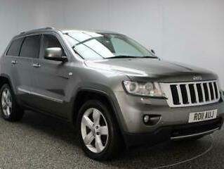 2011 11 JEEP GRAND CHEROKEE 3.0 V6 CRD LIMITED 5DR AUTOMATIC 237 BHP SAT NAV DIE