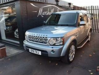 2011 11 LAND ROVER DISCOVERY 4 3.0 4 TDV6 HSE 5D AUTO 245 BHP DIESEL