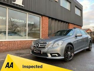 2011 11 MERCEDES E350 CDI BLUEEFFICIENCY SPORT AUTO SALOON 76K FULL HISTORY