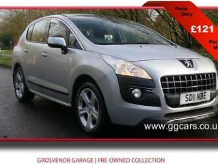 2011 11 PEUGEOT 3008 2.0 HDI EXCLUSIVE 5DR