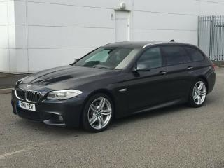 2011 11 Reg BMW 530d M SPORT Touring / Estate AUTO FSH+SATNAV+LEATHER+19's