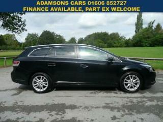 2011 Toyota Avensis 1.8 TR Automatic Tourer CVT Estate Black.Great Spec