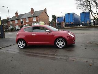 2011 61 ALFA ROMEO MITO 1.4 LITRE DISTINCTIVE 3 DOOR IN RED ONE OWNER FROM NEW